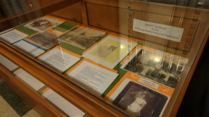Florence Stratton Mini Museum Exhibit