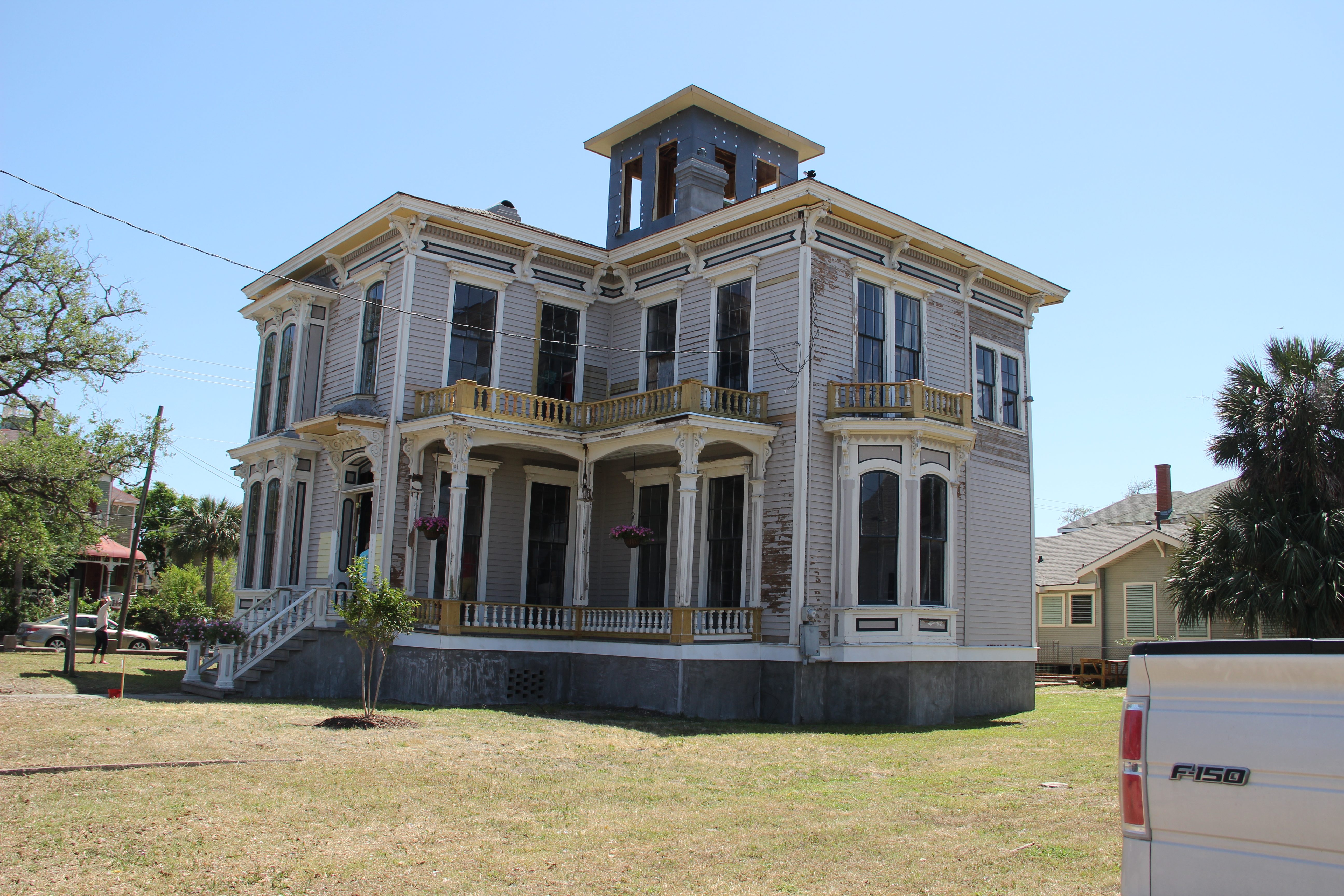 40th annual galveston historic homes tour rediscovering for Home builders southeast texas